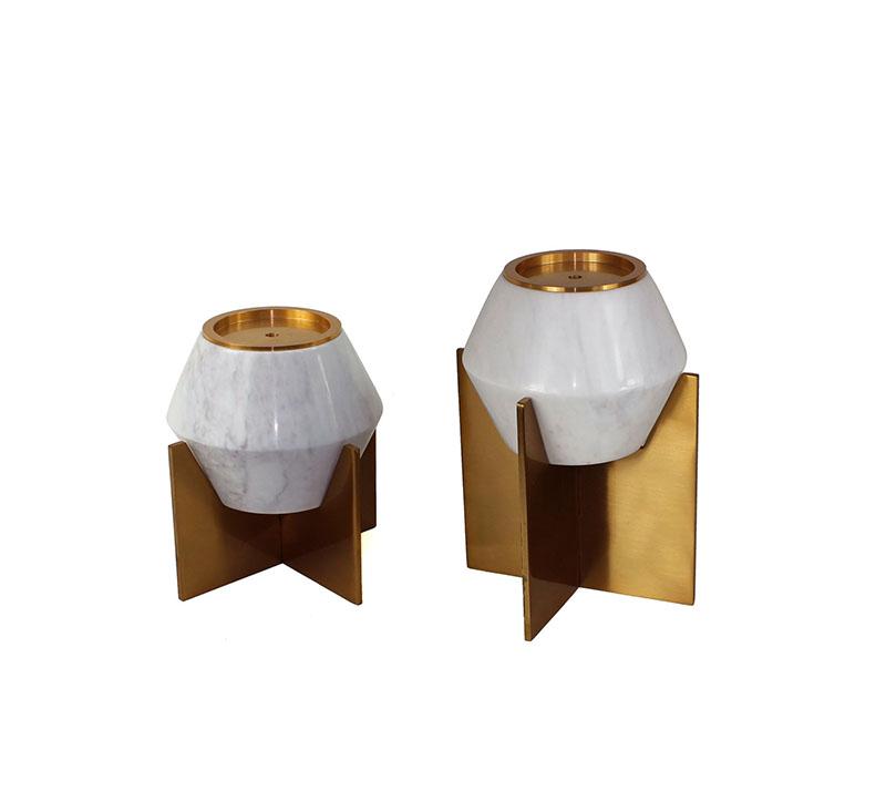 شمعدان قطعتين (KL0-645 (A+B