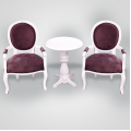 Two chairs & Table